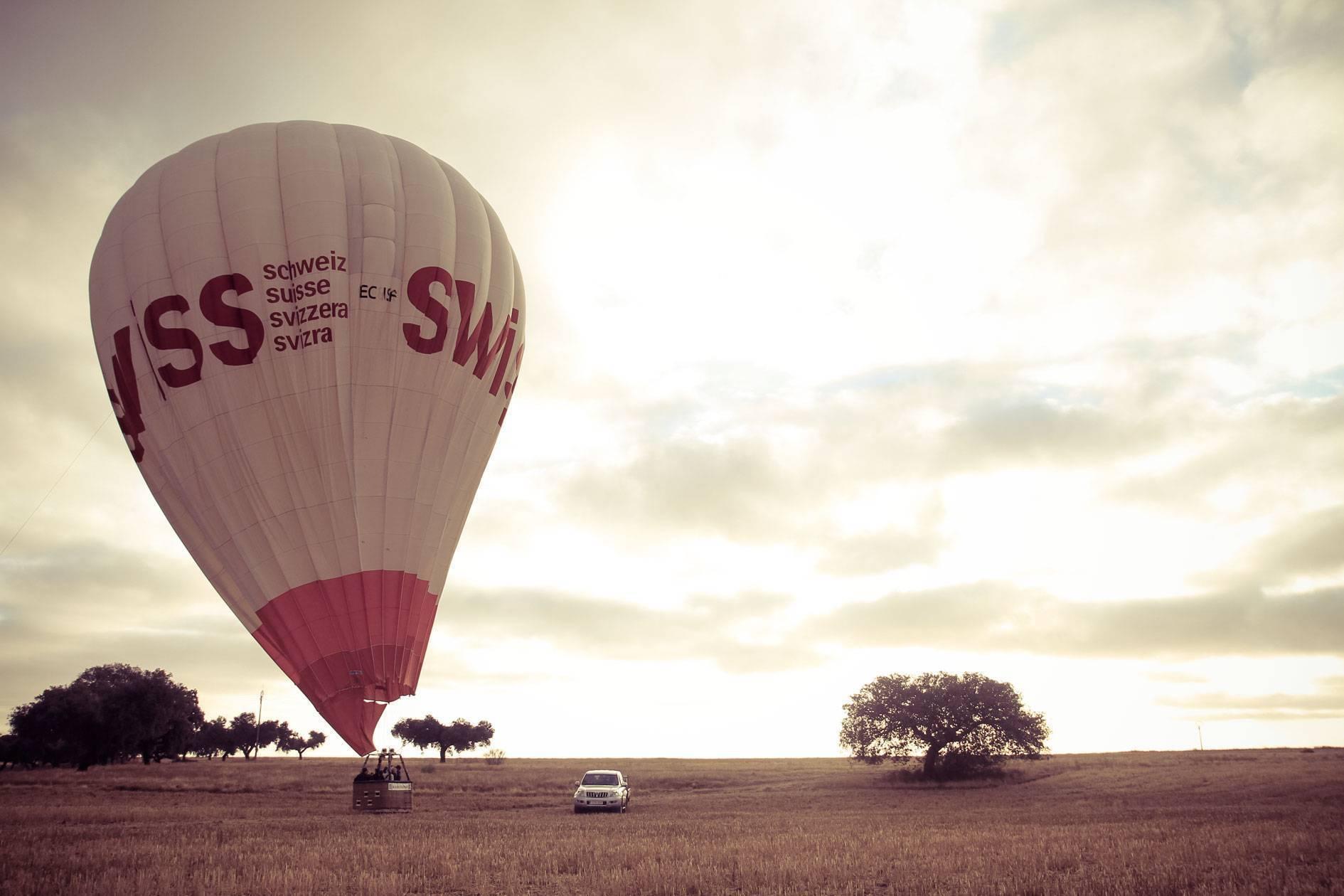 Aterrizar con un globo