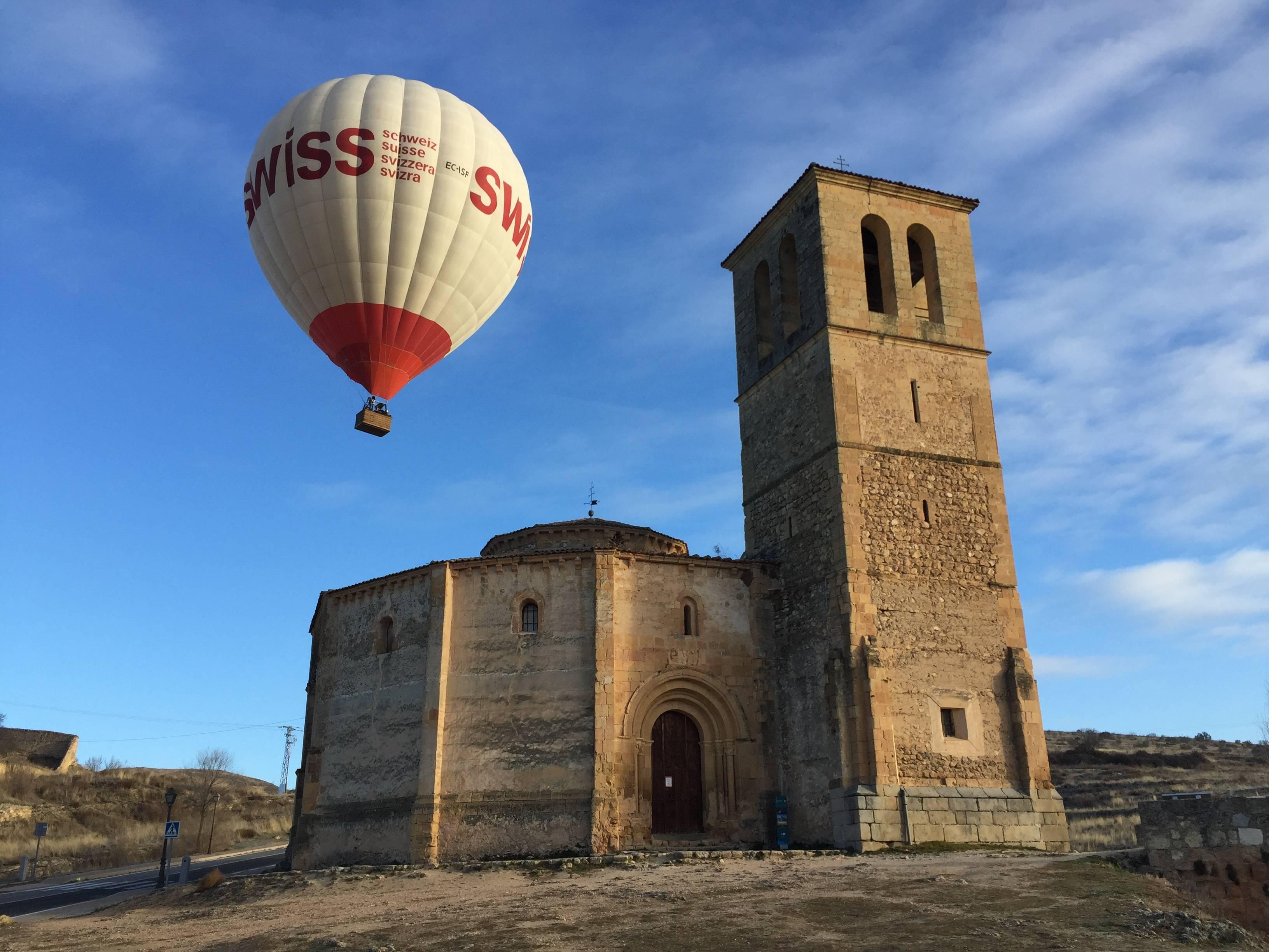 balloon ride over Segovia: Destinos de vuelo en globo