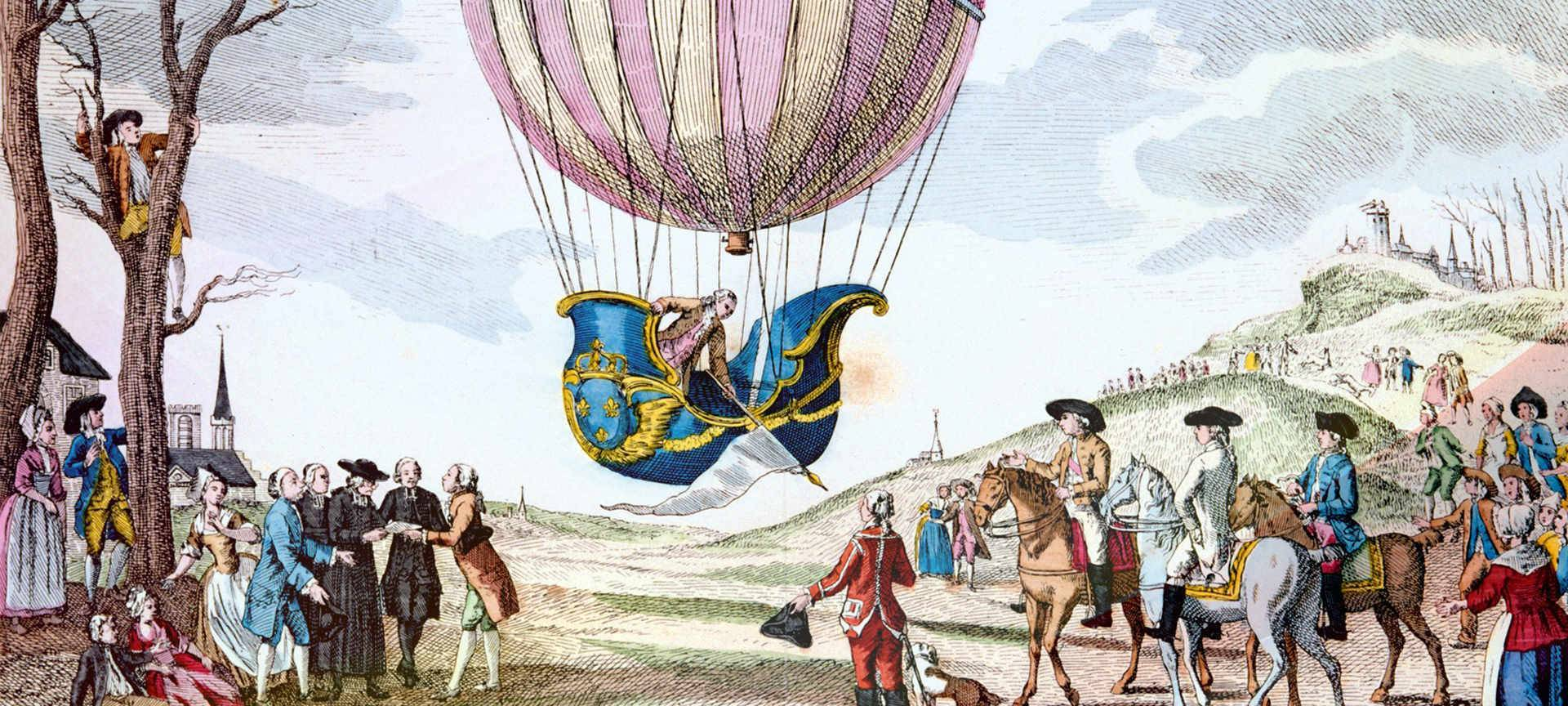 hot air ballloons