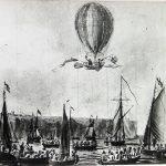 Primer cruce del Canal de la Mancha en globo