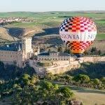 Turismo accesible con el globo aerostático de Segovia