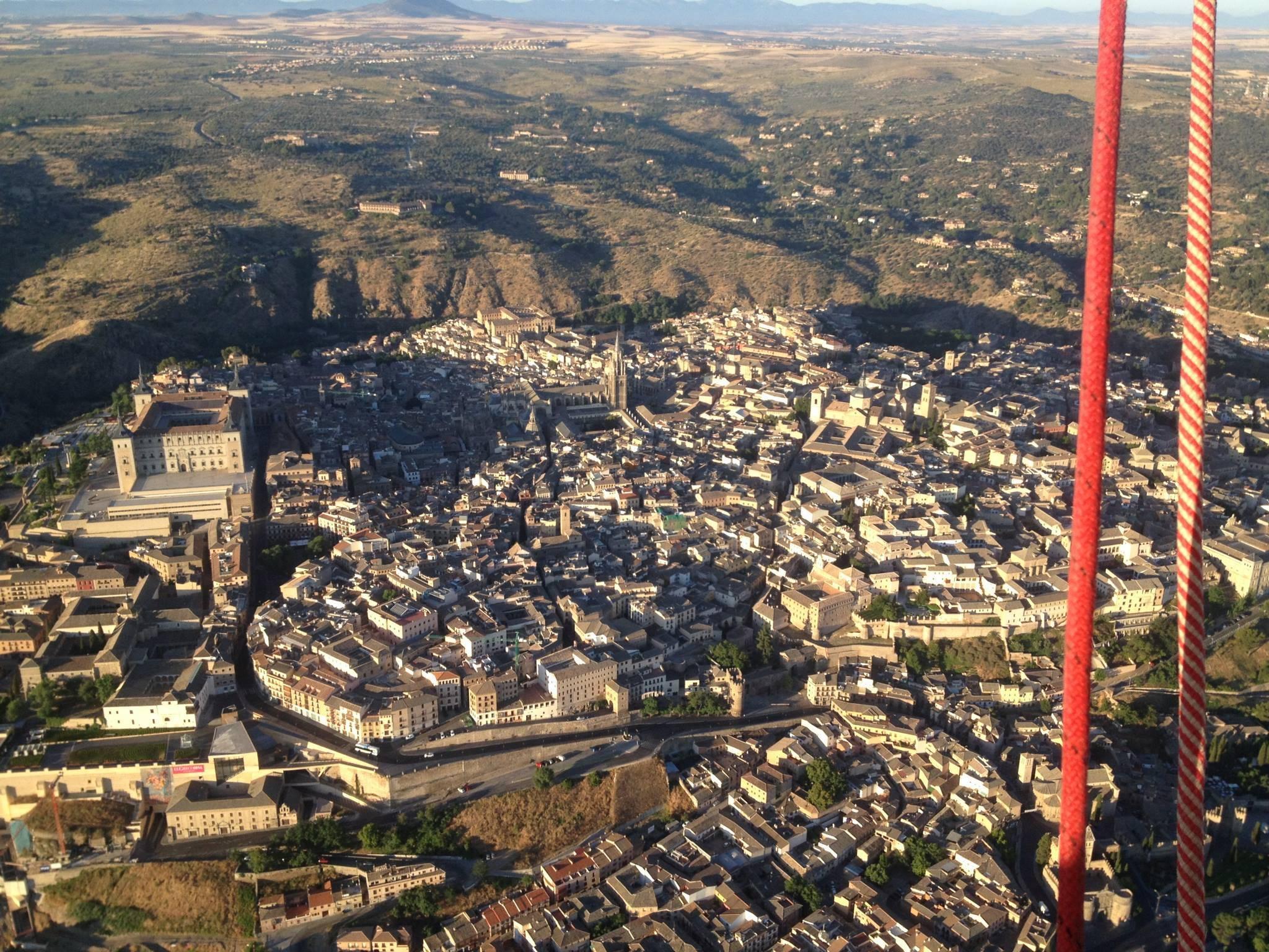 Excursión en globo en Toledo