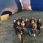 Viajar en globo en Segovia