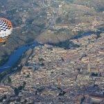 Toledo desde un globo