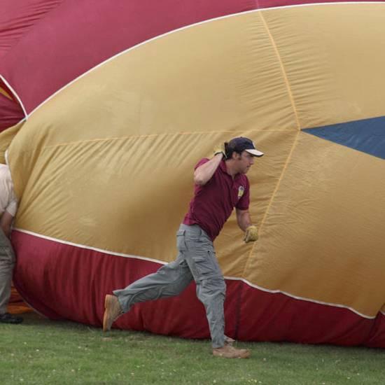 Festival de globos de Segovia