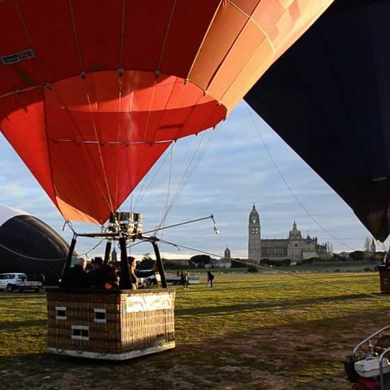reserva vuelo en globo en festival de globos Segovia