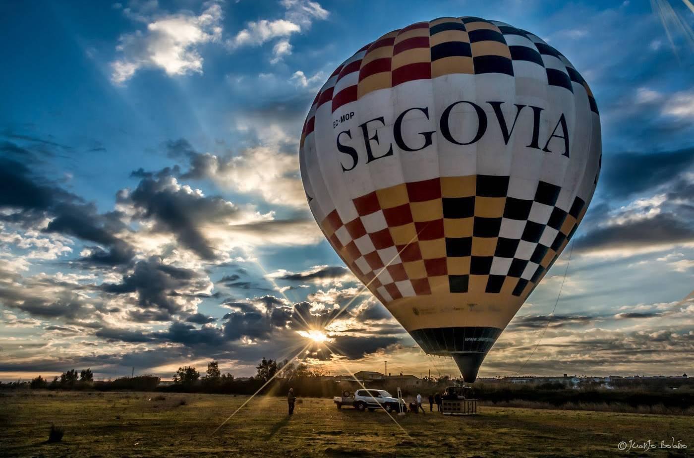 El globo accesible de Segovia