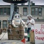 Vuelo en globo barato.