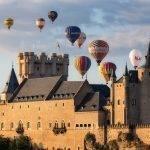 concurso fotográfico de globos en Segovia