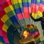 Globos aerostáticos y paracaídas