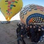 Paseo en globo por Segovia en Reyes. 05-01-2019
