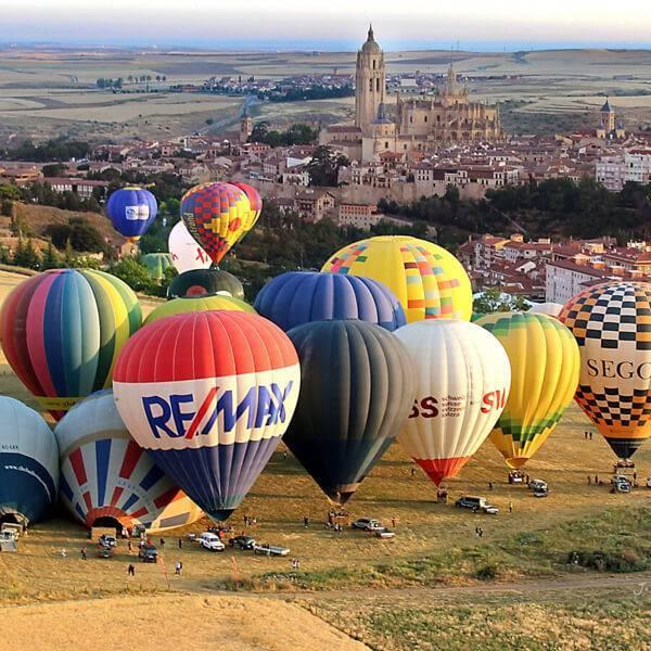 Programa festival de globos de Segovia