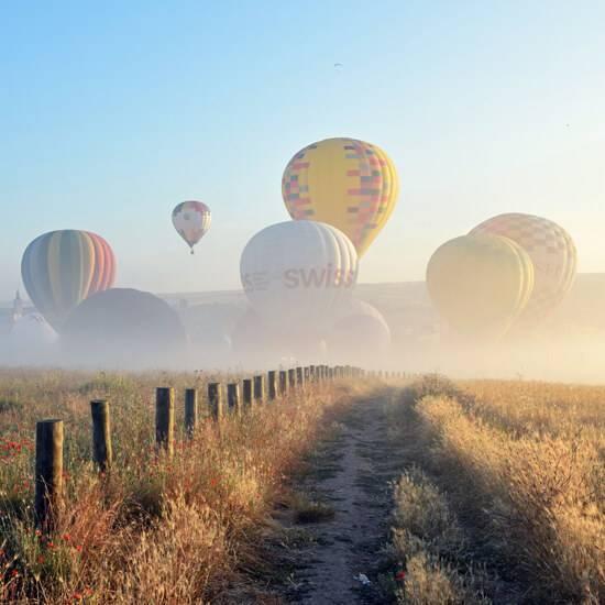 reserva vuelos festival de globos de segovia