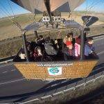 Volando bajo para disfrute de nuestros pasajeros. 15-02-2019