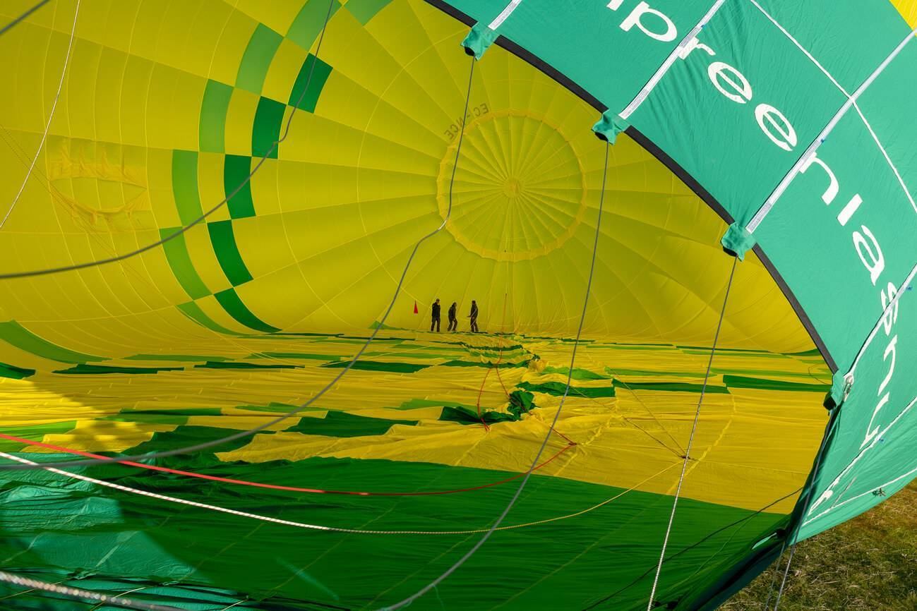 La magia de los globos aerostáticos