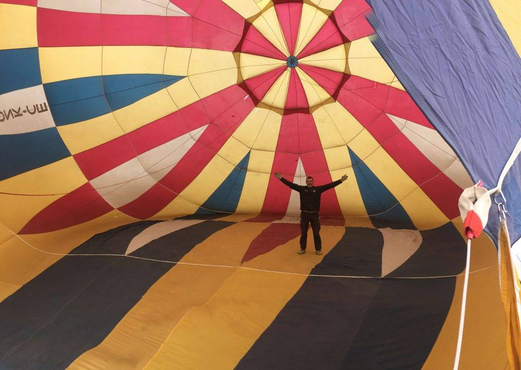 La Vida de un globo aerostático