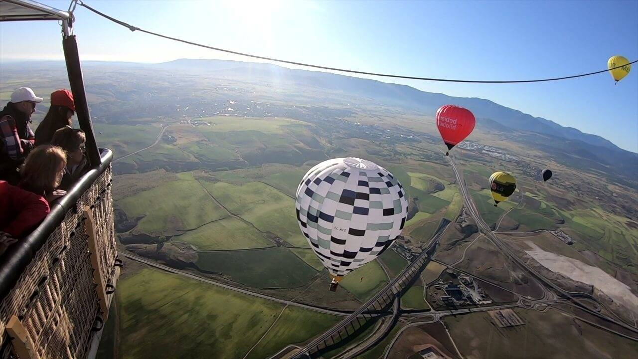 Globos aerostáticos en Segovia