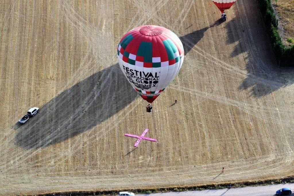 Competición de globos en Segovia