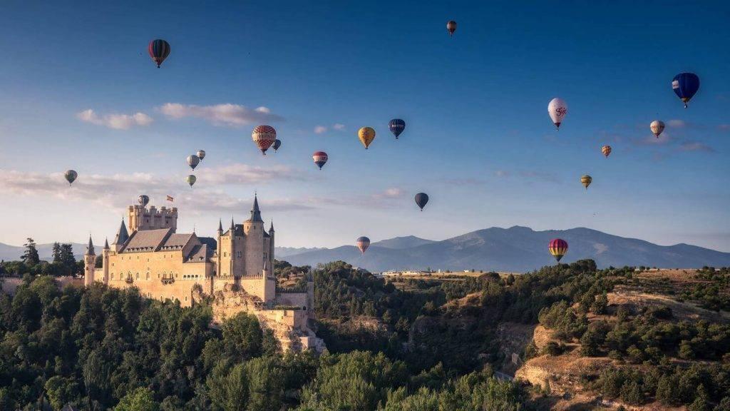 II Festival Accesible de Globos de Segovia del 19 al 21 de julio