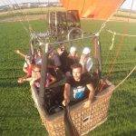 En ruta por Toledo a bordo de un globo. 07-07-2019