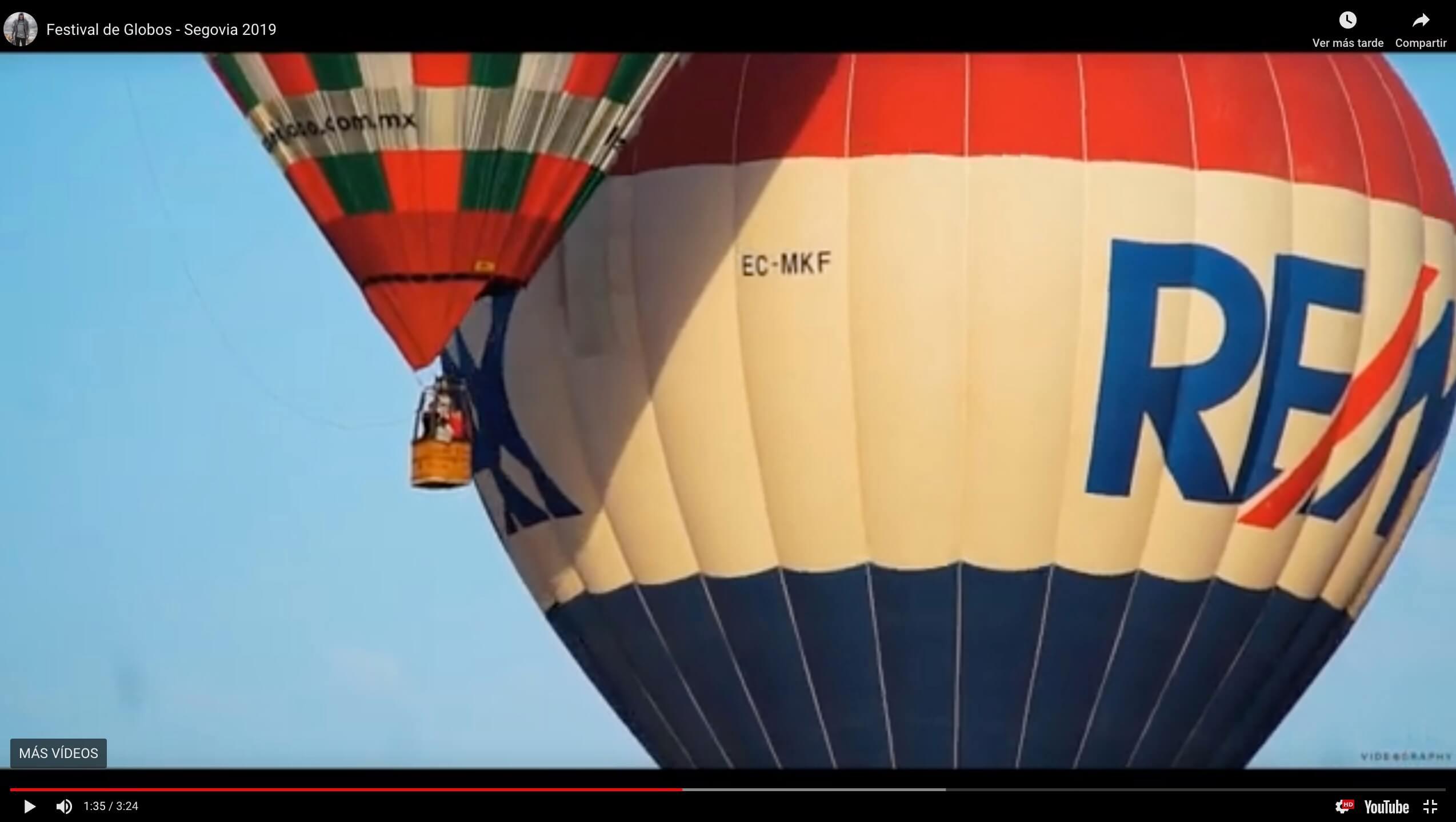 Segovia se llena de globos