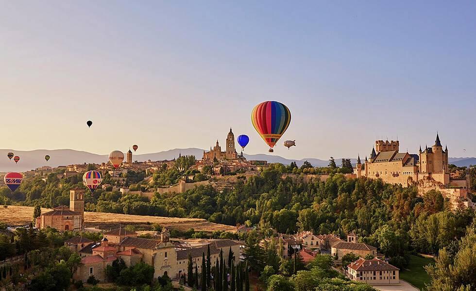 Colores sobre Segovia