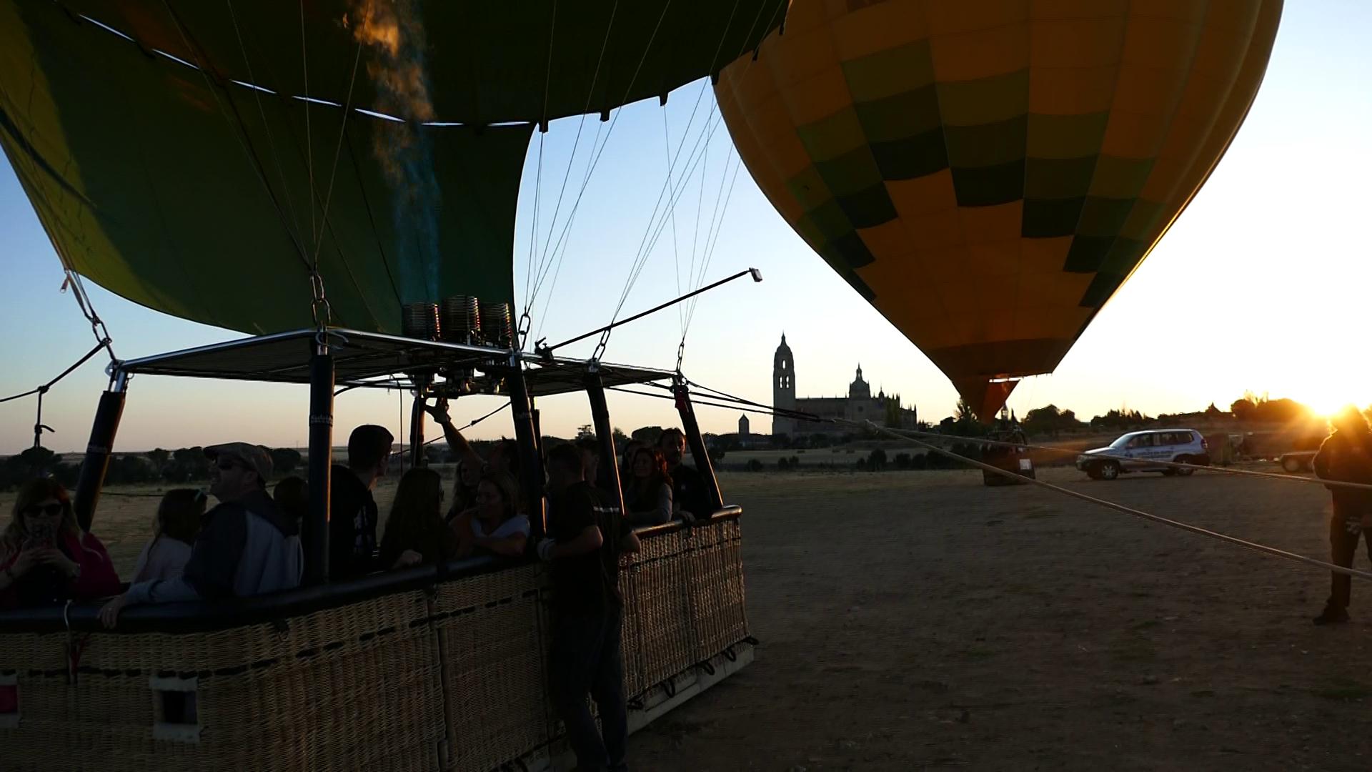 Paseo en globo por Segovia 03/08/2019