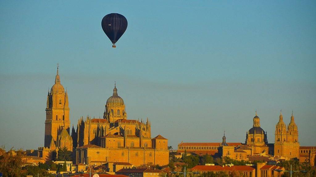 Montar en globo en Salamanca