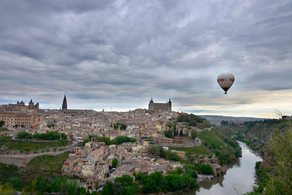 Viajar en globo en Toledo