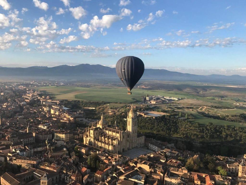 El globodromo de Segovia
