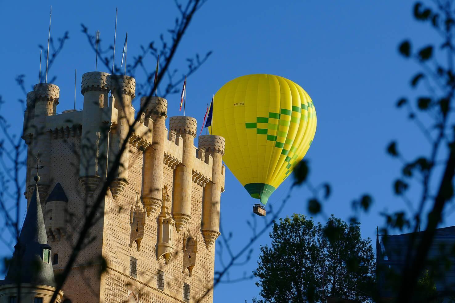 Montar en globo