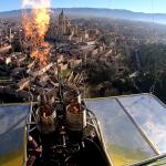 Paseo en globo por Segovia el 11 de Enero del 2020