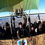 Paseo en globo por Segovia el 12 de Enero del 2020