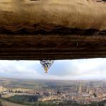 Ruta en globo por Segovia el 26/01/2020