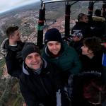 Paseo en globo por Segovia 09/02/2020