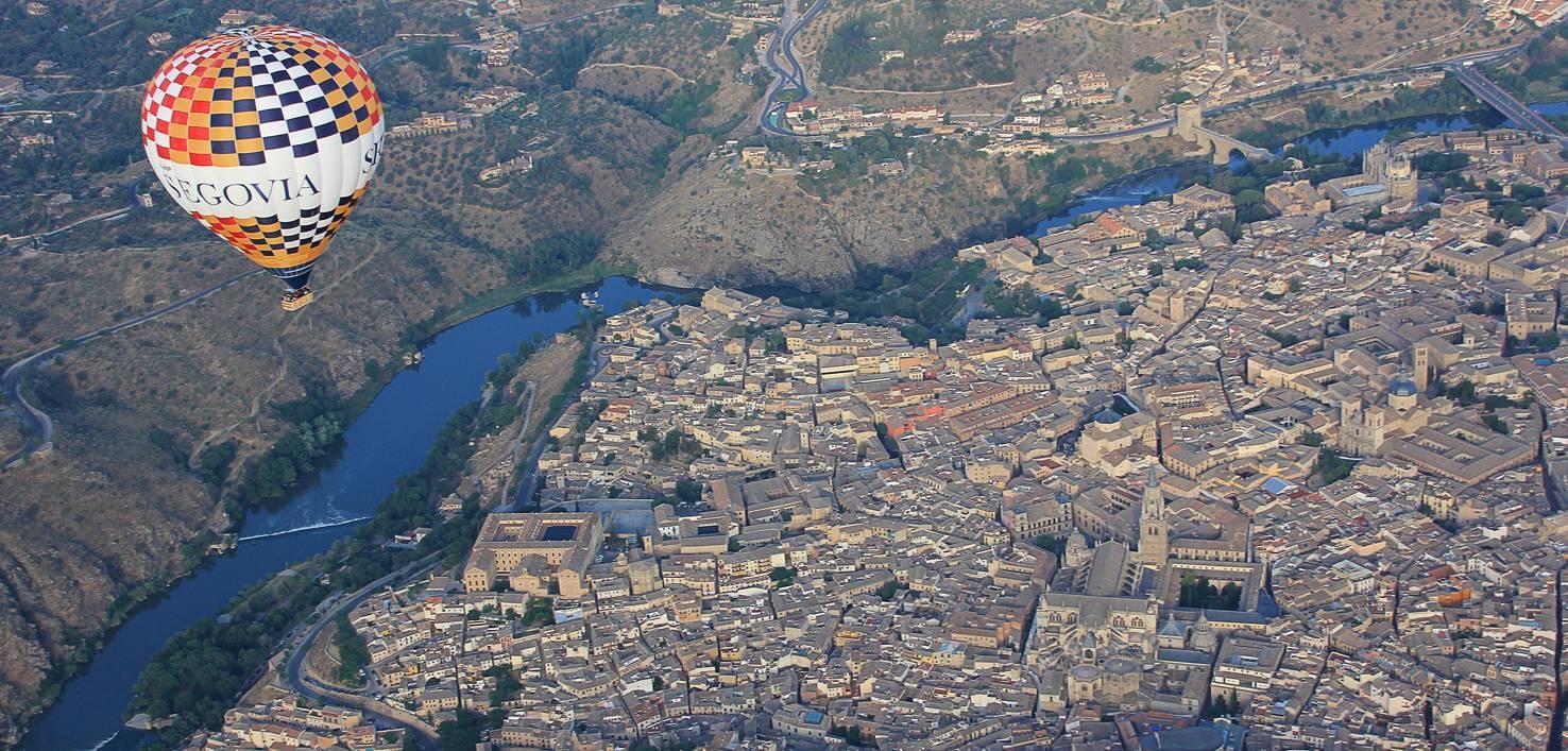 Vuelta en globo en Toledo