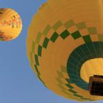 Volando en globo en Segovia el 11/7/2020
