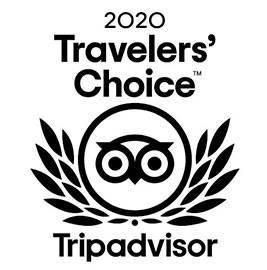 Certificado de excelencia Trip Advisor 2020